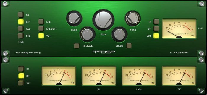 McDSP L18 Surround