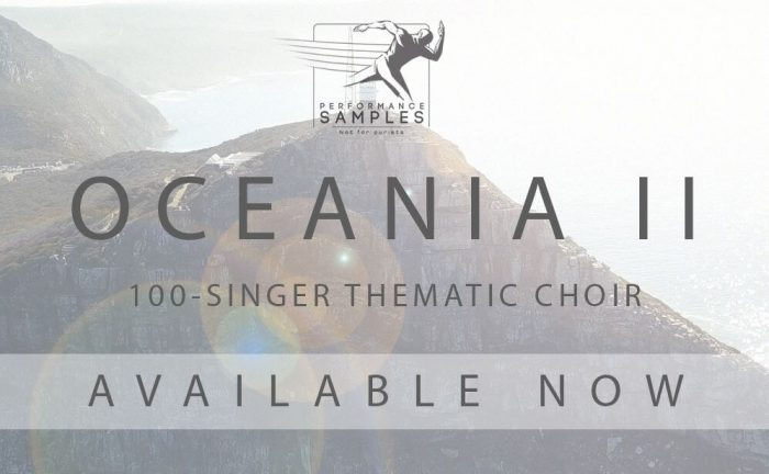 Performance Samples Oceania 2