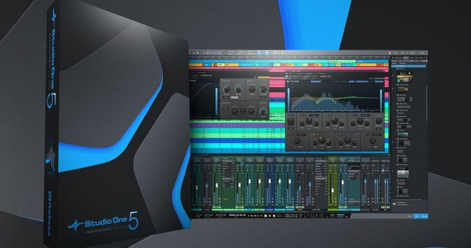 PreSonus Studio One 5 crossgrade