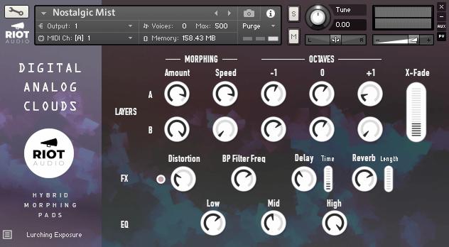 Riot Audio Digital Analog Clouds