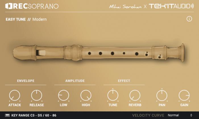 TekIt Audio RECsoprano 2