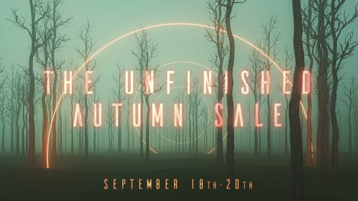 The Unfinished Autumn Sale 2020