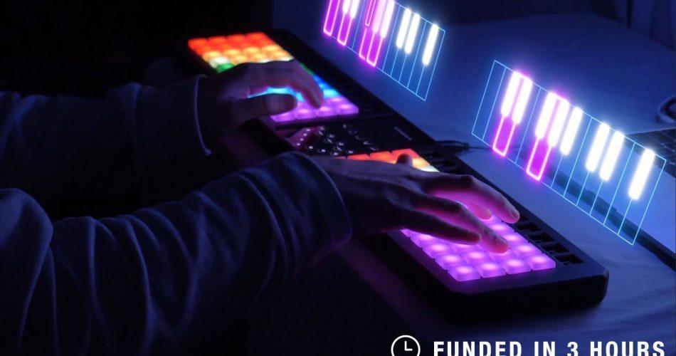 Thys333 Kickstarter Image Piano Roll