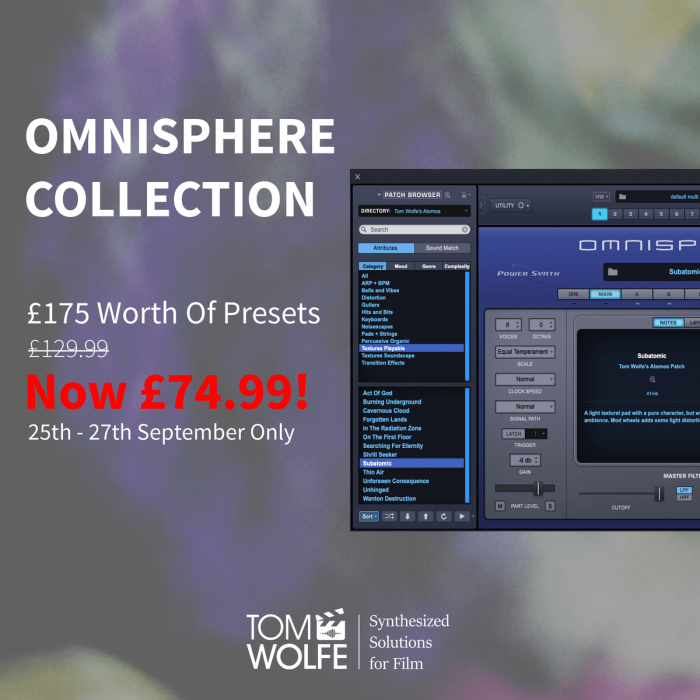 Tom Wolfe Omnisphere Collection Sale