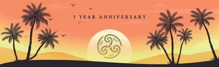Triple Spiral Audio 3 year anniversary