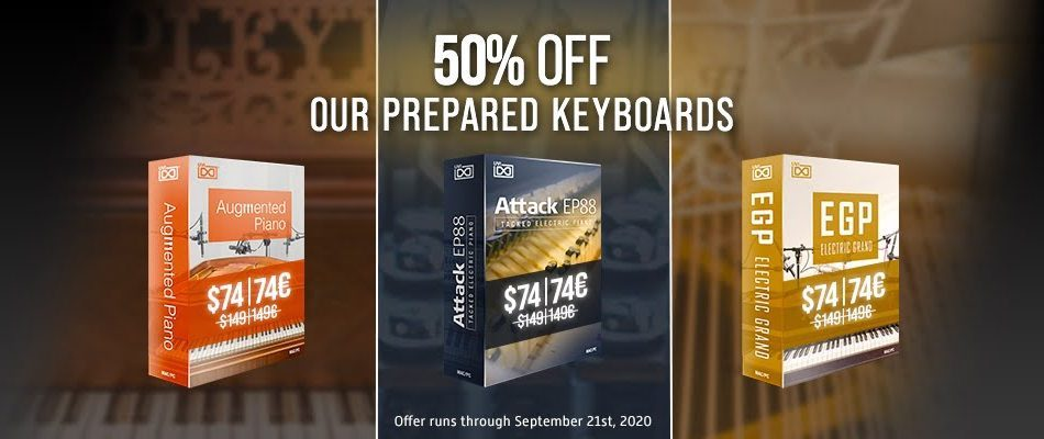 UVI Prepared Keyboards Sale