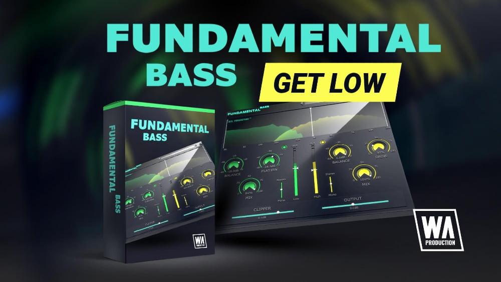Fundamental Bass multi-fx bass processing plugin by W.A. Production