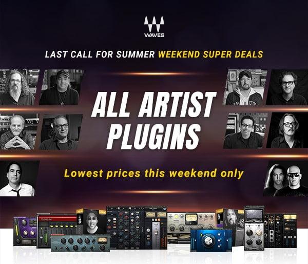 Waves All Artist Plugins