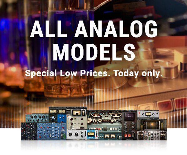 Waves Analog Models Flash Sale