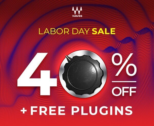 Waves Labor Day Sale 2020