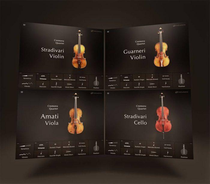 e instruments Cremona Quartet