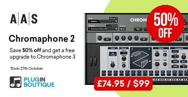 AAS Chromaphone 2 offer