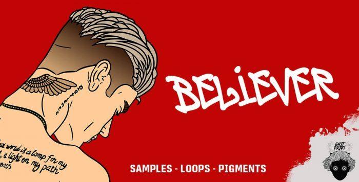 ADSR GHST PRJKT Believer pigments loops samples banner
