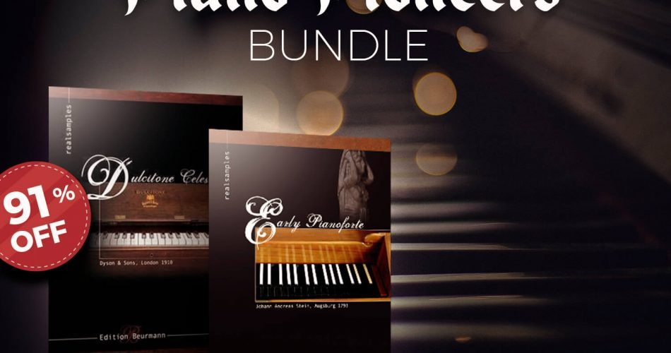 APD Realsamples Piano Pioneers Bundle