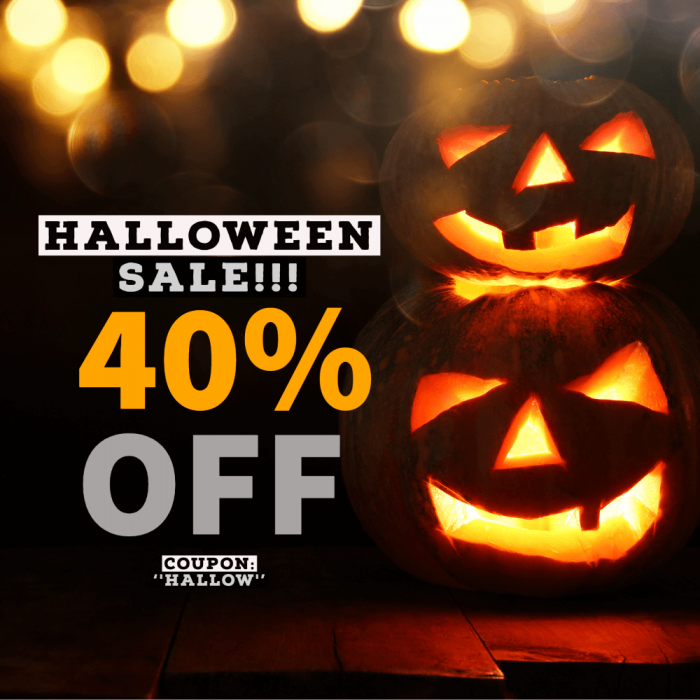 Audentity Halloween 40 off