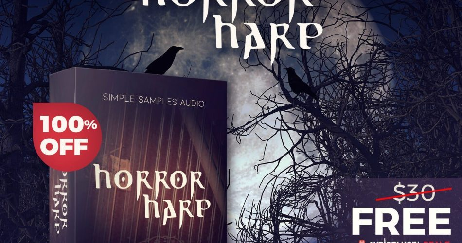 Audio Plugin Deals Horror Harp