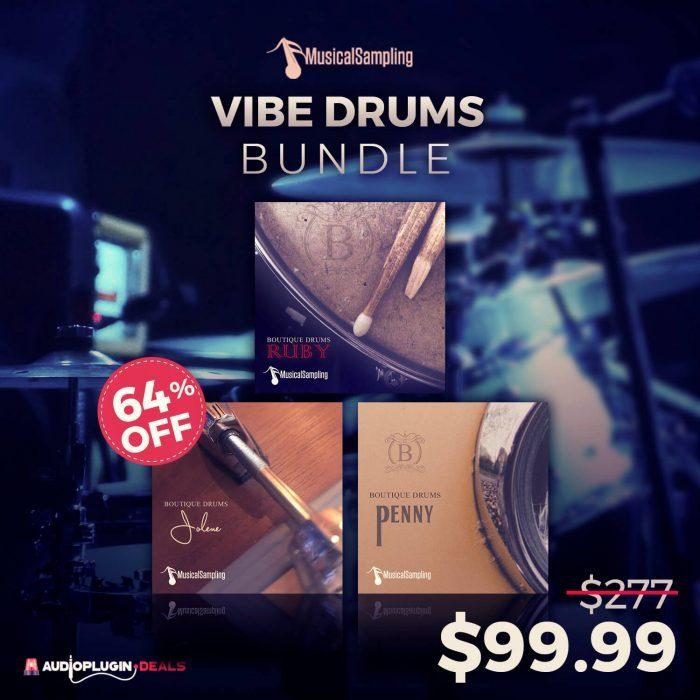 Audio Plugin Deals Vibe Drums Bundle