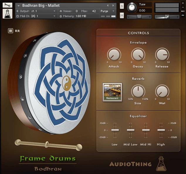 AudioThing Frame Drums