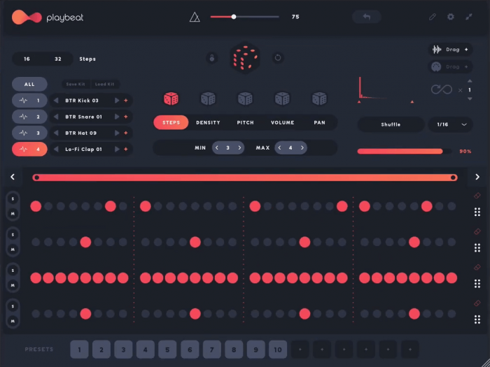 Audiomodern Playbeat 2.3