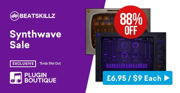 BeatSkillz Synthwave Sale