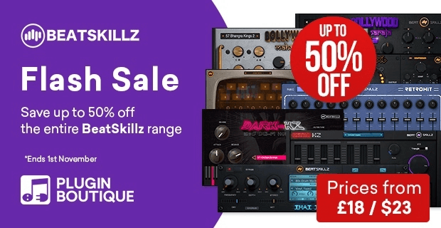 Beatskillz 50 Flash Sale