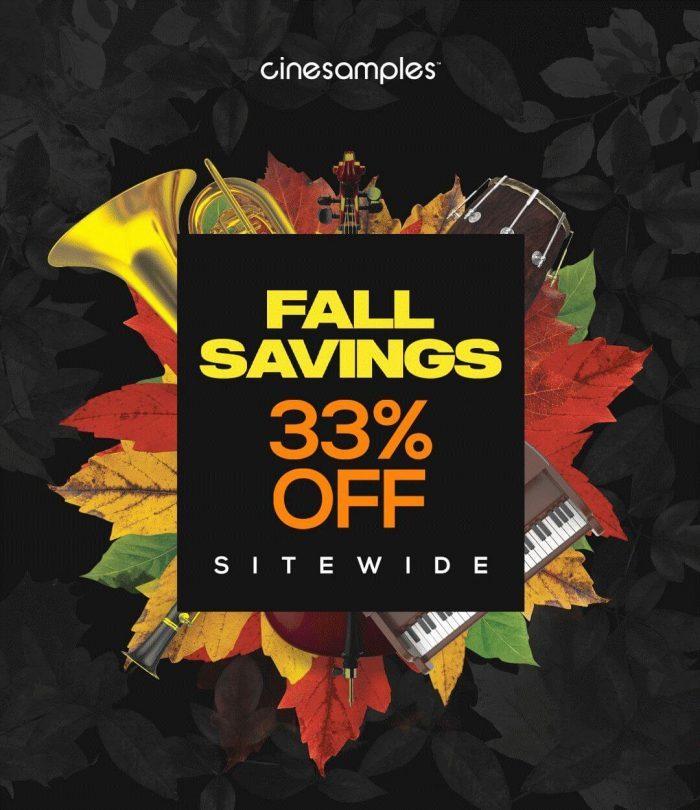 Cinesamples Fall Savings