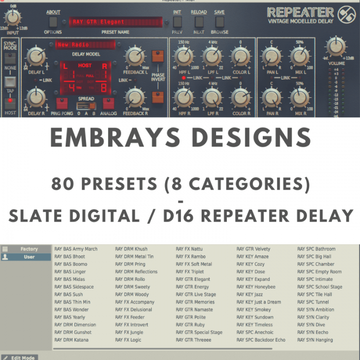 Embrays Designs D16 Repeater