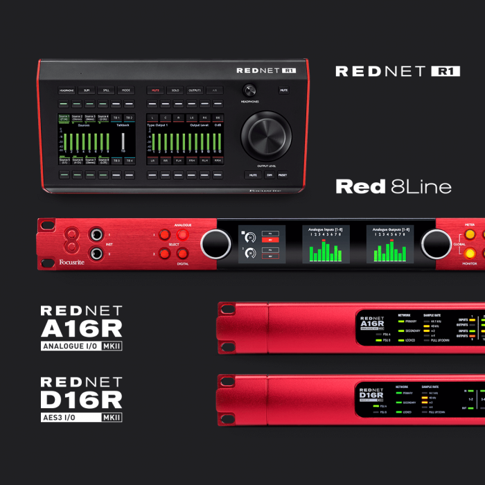 Focusrite Red products
