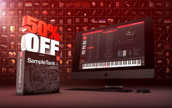 IK SampleTank 4 MAX on sale at 50% OFF