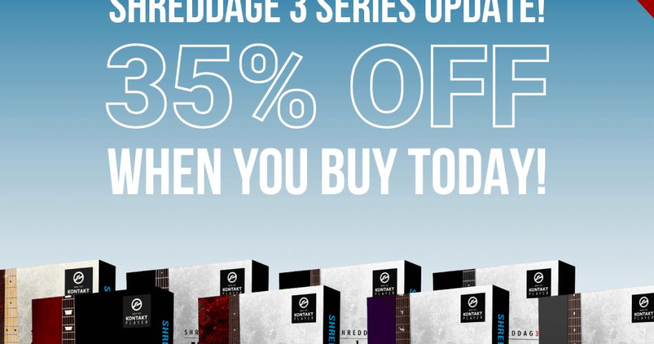 Impact Soundworks Shreddage 3 update sale feat