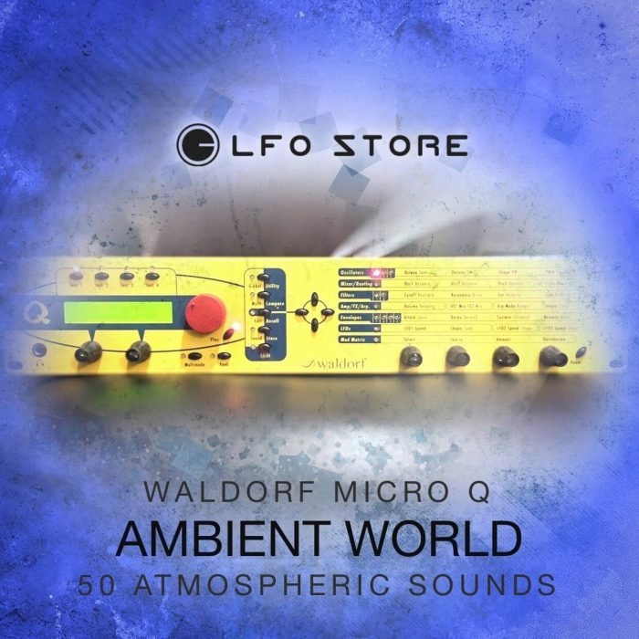 LFO Store Ambient World for Waldorf Micro Q