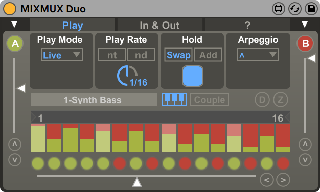 MIXMUX Duo Live View