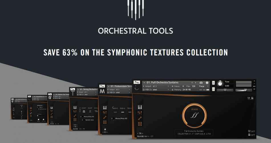 NI Orchestral Tools Symphonic Textures Collection