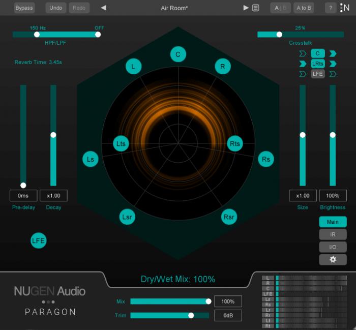 NUGEN Audio Paragon GUI