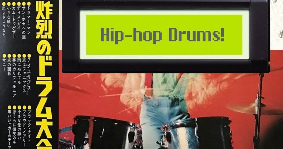 Past To Future 12bit Hip Hop Drums