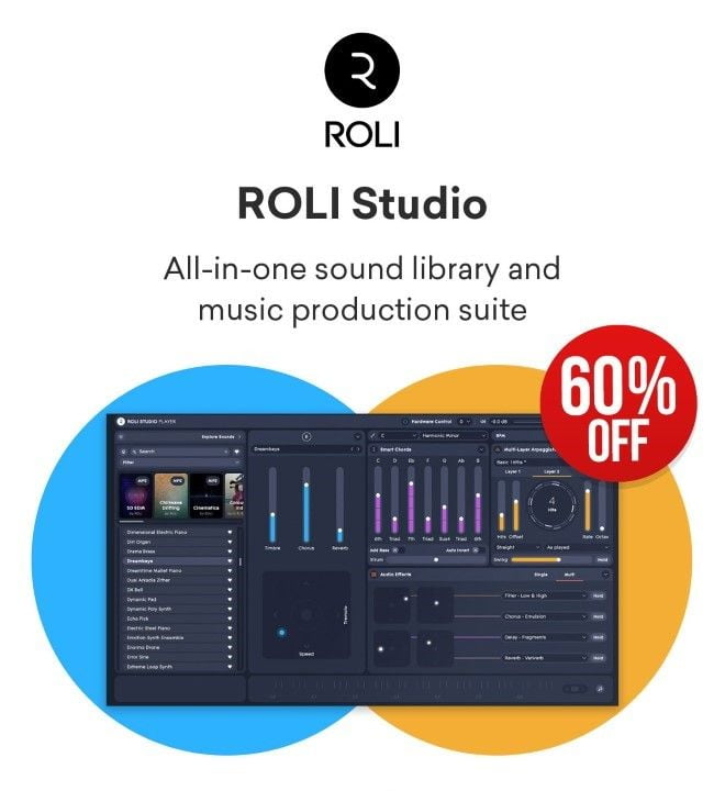 ROLI Studio 60 OFF