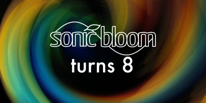 Sonic Bloom 8 Birthday