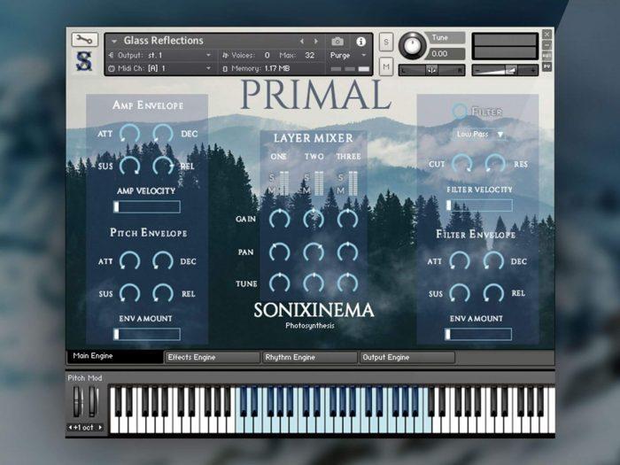 Sonixinema Primal GUI