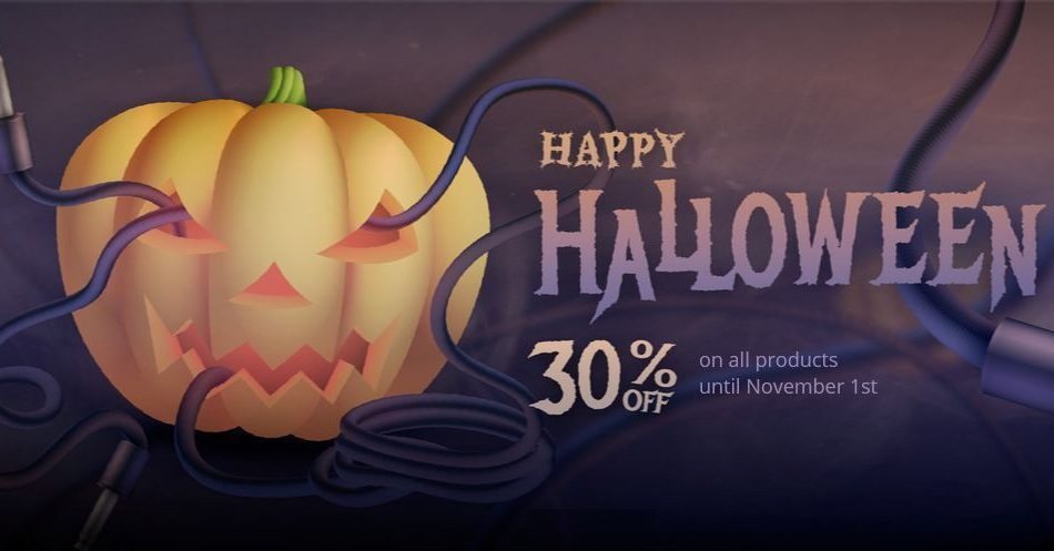 Sound Particles Halloween Sale