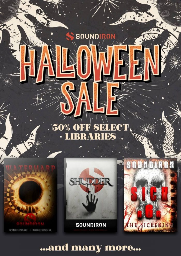 Soundiron Halloween Sale 2020