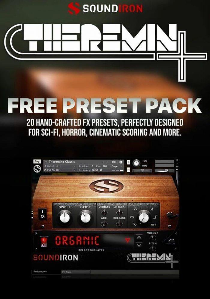 Soundiron Theremin Preset Pack