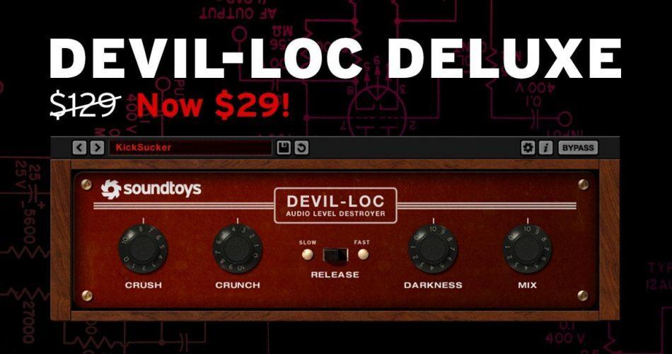 Soundtoys Devil Loc Sale 29 USD