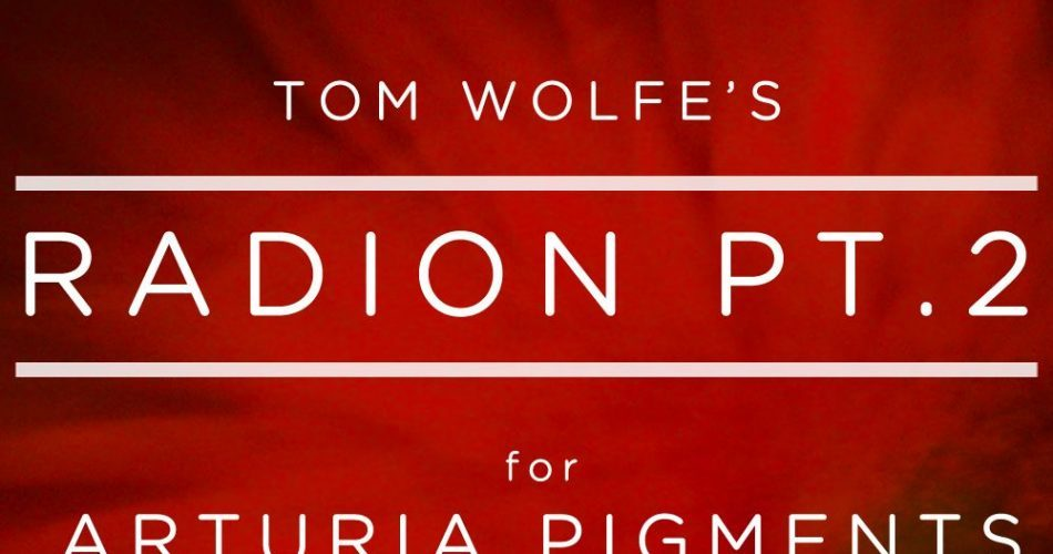 Tom Wolfe Radion Pt 2