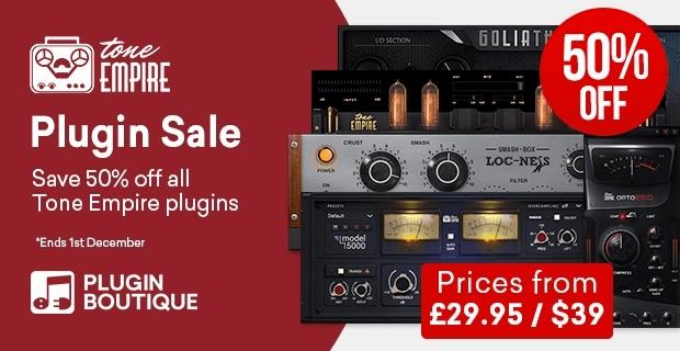 Tone Empire 50 OFF plugins