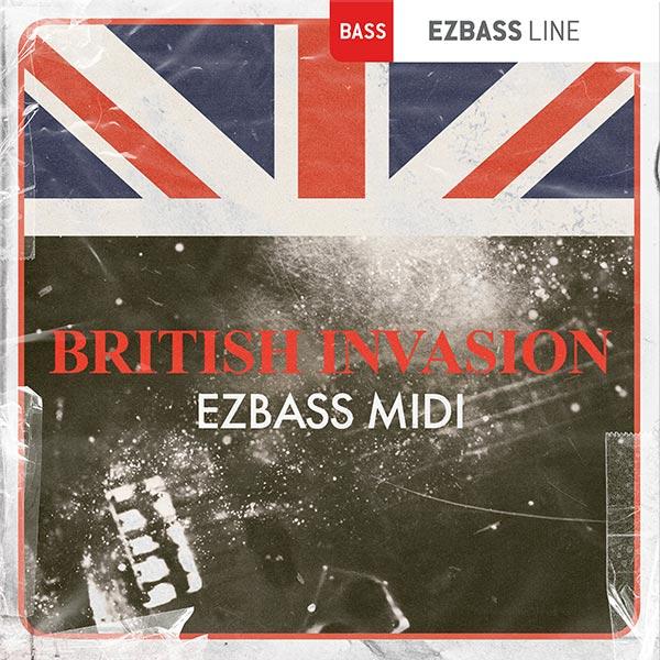 Toontrack BritishInvasionEZbassMIDI
