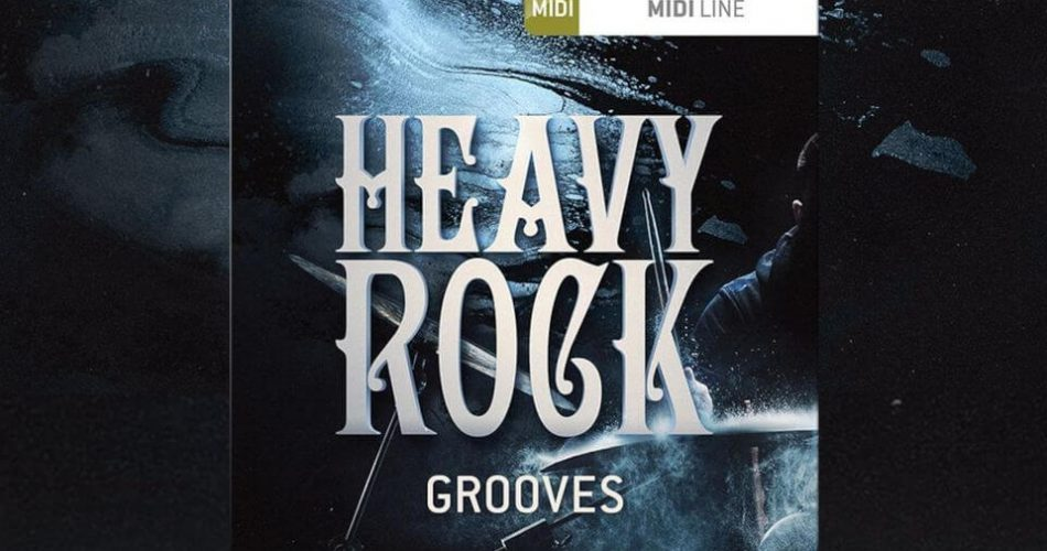 Toontrack Heavy Rock Grooves MIDI