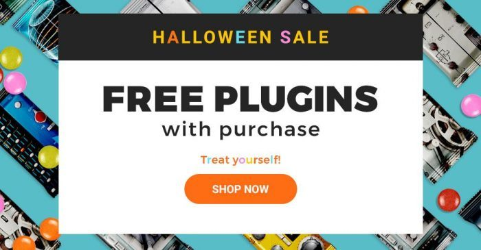Waves Halloween Sale Free Plugin