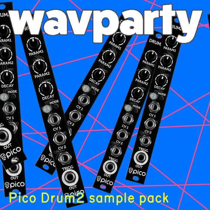 Wavparty Pico Drum2 Sample Pack