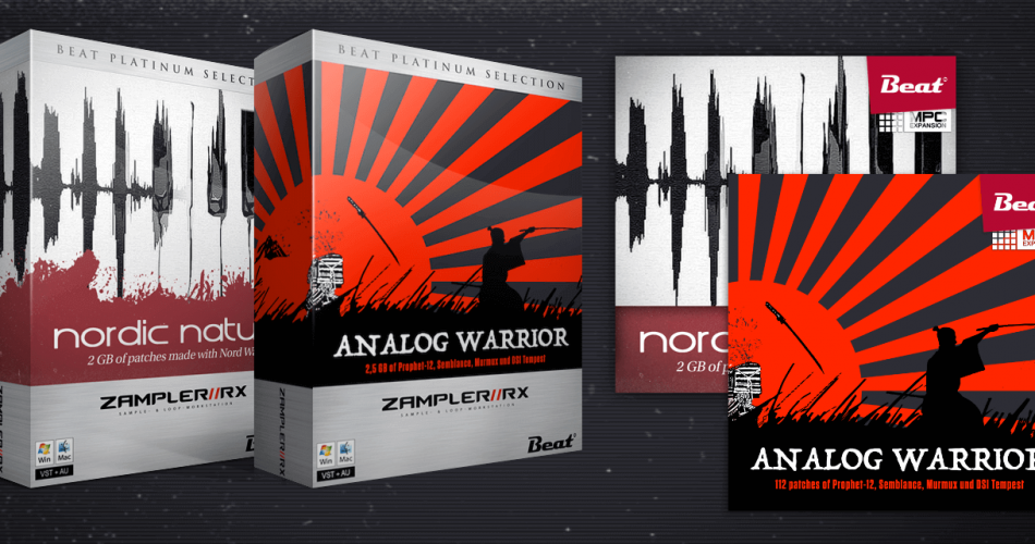 Zampler Sounds Analog Warrior and Nordic Nature