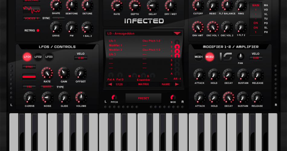 infected synth